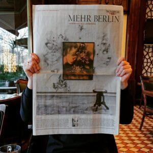 Betti Scholz im Tagesspiegel