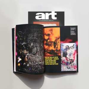Betti Scholz im Art Magazin