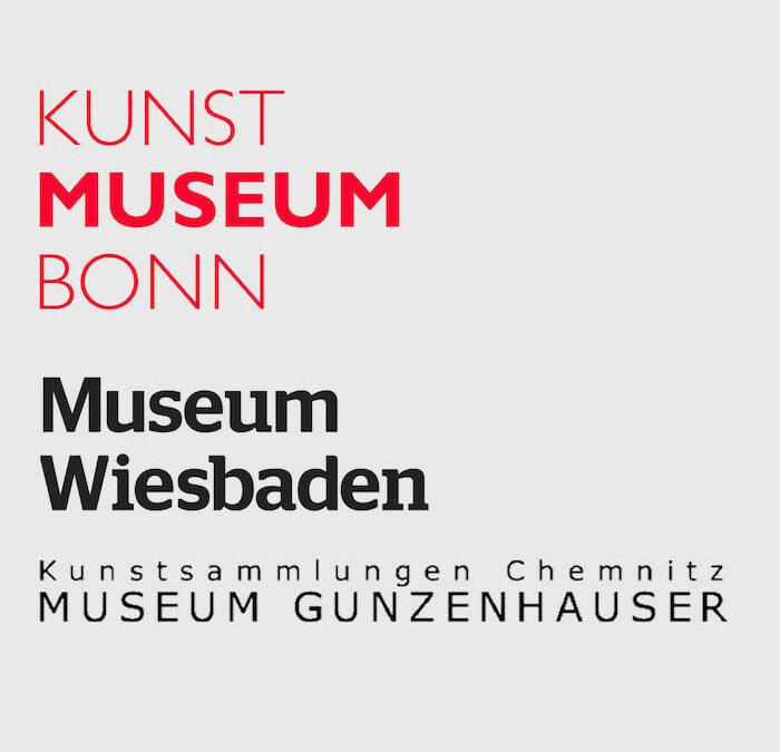 Lukas Glinkowski in einer Gruppenaustellung in 3 Museen